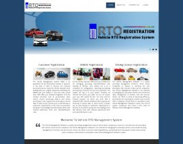 PHP and MySQL Project on RTO Vehicle Registration System