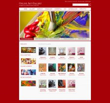 Java, JSP and MySQL Project on Online Art Gallery