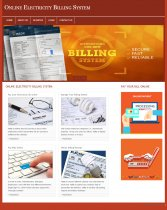 PHP and MySQL Project on Electricity Billing System