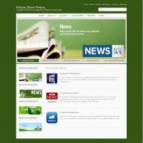 C#, ASP and MySQL Project on Online News Portal
