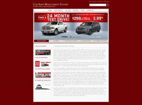 Java, JSP and MySQL Project on Car Shop Management System
