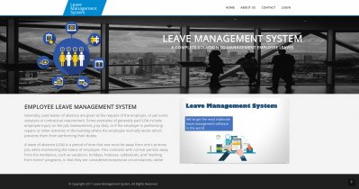 AngularJS, PHP and MySQL Project on Leave Management System