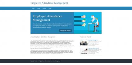 Python, Django and MySQL Project on Employee Attendance Management System