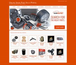 Java, JSP and MySQL Project on Online Spare Parts Sells Portal