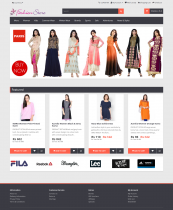 PHP Project on Online Fashion Store with MySQL Database