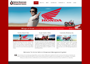 PHP and MySQL Project on Vehicle Showroom Management System
