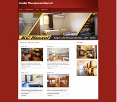 PHP and MySQL Project on Hostel Management System