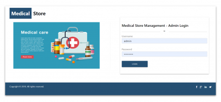 NodeJS, AngularJS and MySQL Project on Medical Store Management System