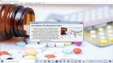 Medicine Store Management System