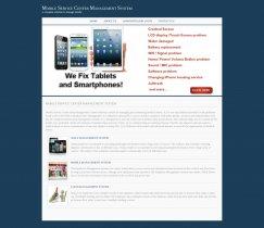Java, JSP and MySQL Project on Mobile Service Center Management System