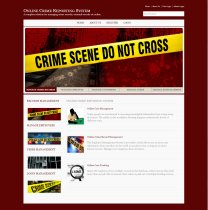 C#, ASP and MySQL Project on Online Crime Reporting System