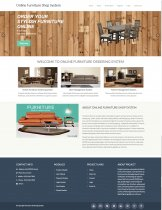 PHP and MySQL Project on Online Furniture Shop