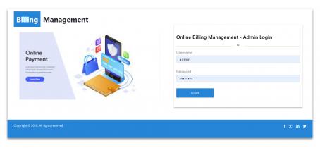 NodeJS, AngularJS and MySQL Project on Online Billing System