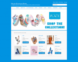 C#, ASP and MySQL Project on Online Footwear Store