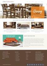 Python Django and MySQL Project on Online Furniture Store