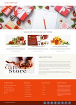 Python Django and MySQL Project on Online Gift Store