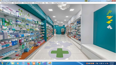 VB.net and MySQL Project on Pharmacy Shop Management System