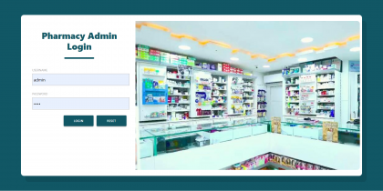 Pharmacy Shop Management System Spring Boot Project