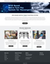 RFID Based Metro Train Ticketing System