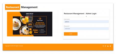 NodeJS, AngularJS and MySQL Project on Restaurant Management System