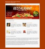 C#, ASP and MySQL Project on Restaurant Management System