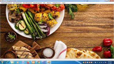 VB.net and MySQL Project on Restaurant Management System