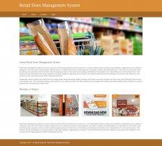 Python, Django and MySQL Project on Retail Store Management System