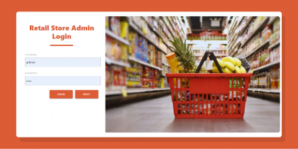 Java Spring Boot, Angular and MySQL Project on Retail Store Management System