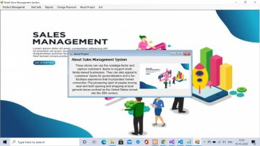C# Windows Application in Sales Management System