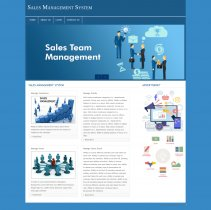PHP and MySQL Project on Sales Management System