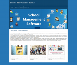 PHP and MySQL Project on School Management System
