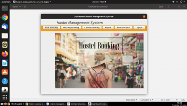 Java and MySQL Project on Hostel Management System