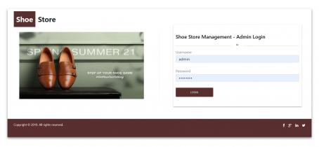NodeJS, AngularJS and MySQL Project on Shoe Store Management System