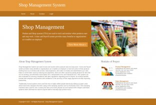 Python, Django and MySQL Project on Shop Management System