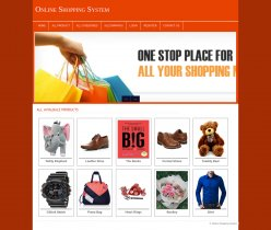 PHP and MySQL Project on Online Shopping System