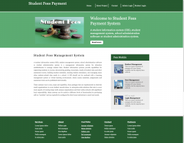 Python, Django and MySQL Project on Student Fees Payment System