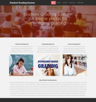 PHP and MySQL Project on Student Grading System