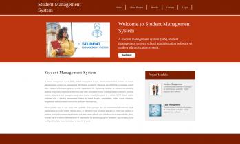 Python, Django and MySQL Project on Student Management System
