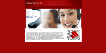 PHP and MySQL Project on Train Enquiry System