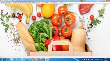 Vegetable Store Management System