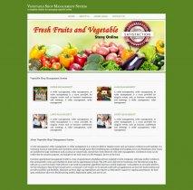 C#, ASP and MySQL Project on Vegetable Shop Management System