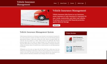 Python Django and MySQL Project on Vehicle Insurance Management System