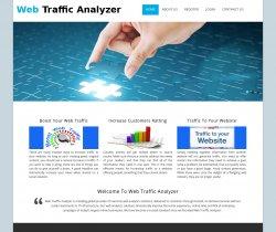 PHP Project on Web Traffic Analyzer with MySQL Database.