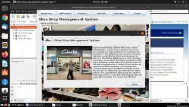 Shoe Shop Management System