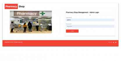 NodeJS, AngularJS and MySQL Project on Pharmacy Shop Management System