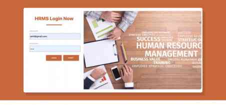 Human Resource Management System Spring Boot Project
