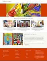 Python Django and MySQL Project on Online Art Gallery