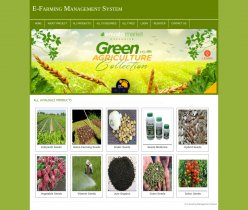 PHP and MySQL Project on E-Farming Management System