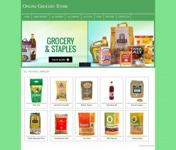 PHP and MySQL Mini Project on Online Grocery Store