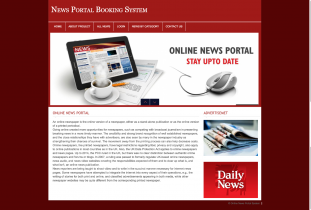 PHP and MySQL Project on Online News Portal